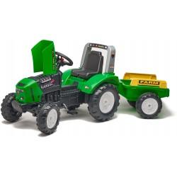 Traktor na pedały z przyeczepką FALK Farm Lander Z240X- green (2021A)