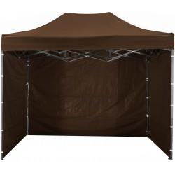 Namiot handlowy ekspresowy aGa 3x4,5 m 3S 2017 POP UP Brown - 2017