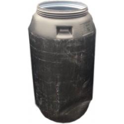 Beczka plastikowa 250 L zdeforomowana z pokrywą