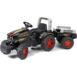 Traktor na pedały z przyczepką FALK Farm King - (1075B)
