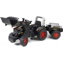 Traktor na pedały z przyczepką FALK Farm King - (1075M)