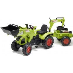 Traktor na pedały z przyczepką FALK Class Axos - (1010Y)