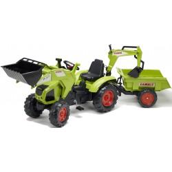Traktor na pedały z przyczepką FALK Class Axos 330 - (1010Z)