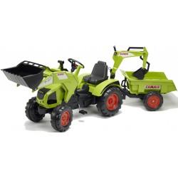 Traktor na pedały z przyczepką FALK Class Axos 330 - (1011Z)