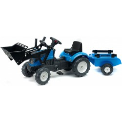 Traktor na pedały z przyczepką FALK Landini Powermondial 110 (2050CM)