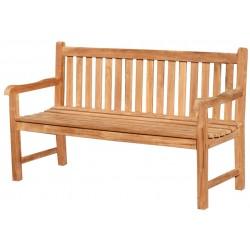 Ławka ogrodowa z drewna tekowego 120 cm PICADELLY - B09E