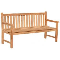 Ławka ogrodowa z drewna tekowego 180 cm PICADELLY - B11E