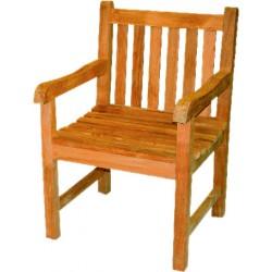 Fotel krzesło ogrodowe z drewna tekowego PICADELLY - DF14