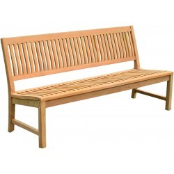 Ławka ogrodowa z drewna tekowego 180 cm KINGSBURY - NA180