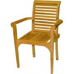 Krzesło ogrodowe z drewna tekowego - NC71