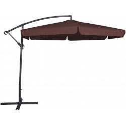 Parasol ogrodowy 300 cm aGa GARDEN EXCLUSIVE 2017 - Dark Brown