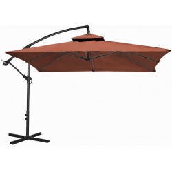 Parasol ogrodowy 250 cm aGa CUBE EXCLUSIVE 2017 - Dark Brown