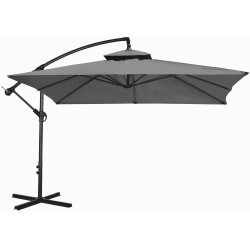 Parasol ogrodowy 250 cm aGa CUBE EXCLUSIVE 2017 - Dark Grey