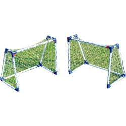 Zestaw 2 bramki piłkarskie 74x46x46cm 2 JUNIOR SOCCER GOAL SET 2017 - (JC-8219A)