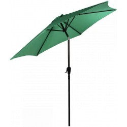Parasol ogrodowy z regulacją 300 cm aGa TILTING CLASSIC 2017 - Dark Green