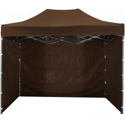 Namiot pawilon ogrodowy aGa 3x4,5 m 3S PARTY Brown