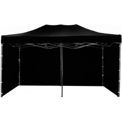 Namiot pawilon ogrodowy aGa 3x6 m 3S PARTY Black