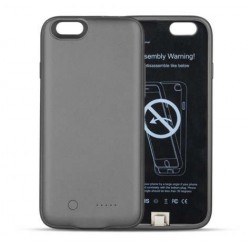 Etui z baterią POWER BANK CASE 3000 mAh - Forover BLACK