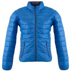 Męska kurtka pikowana dwustronna U.S. Pollo ASSN royal blue (537)