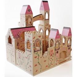 Zamek drewniany dla lalek CASTLE
