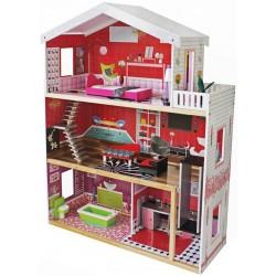 Domek dla lalek drewniany MOLLY