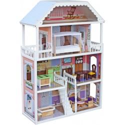 Domek dla lalek drewniany ANNA - (W06A218)