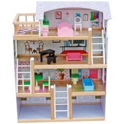 Domek dla lalek drewniany BECKY - (W06A238)