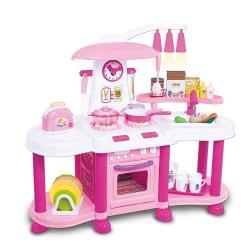 Kuchnia plastikowa interaktywna FUNNY Pink - (ZB-6013A)