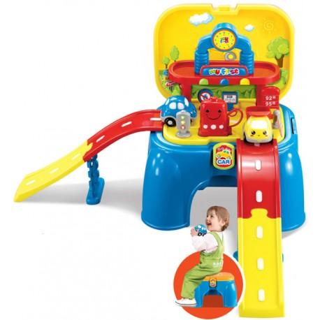aGa4kids Magiczne krzesłko do zabawy STACJA BENZYNOWA - GAZ STATION (OTE0628447)