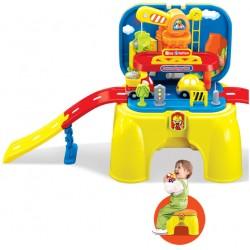 aGa4kids Magiczne krzesłko do zabawy MYJNIA SAMOCHODOWA - DELUXE SUPER SET (OTE0628448)