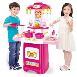 DUŻA Kuchnia plastikowa interaktywna COOK FUN - (HM824543)