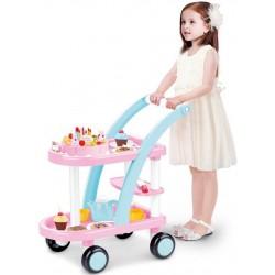 aGa4kids Zestaw urodzinowy z wózkiem CAKE CART - (HM835892)