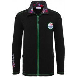 Bluza polarowa NEBULUS DERRICK Black - P2050