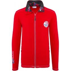 Bluza polarowa NEBULUS DERRICK Red - P2051
