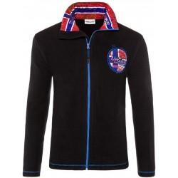 Bluza polarowa NEBULUS GOTLAND Black - Q2035