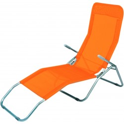 Leżak SIESTA Linder Exclusiv MC372171O Orange