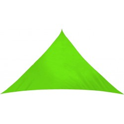 Żagiel przeciwsłoneczny markiza 3,6x3,6x3,6m MOCNY HiT - MC2018 Apple green