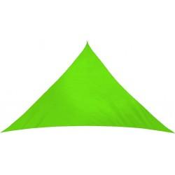 Żagiel przeciwsłoneczny markiza 5x5x5m MOCNY HiT - MC2021 Apple green