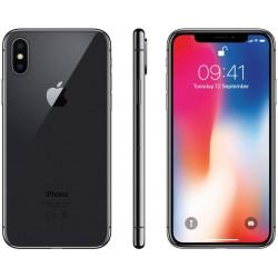 Apple iPhone X 64GB Srebrny/Czarny 24H GW
