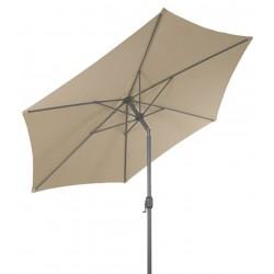 Parasol ogrodowy z regulacją kąta 300 cm MOCNY SOLIDNY - LINDER EXCLUSIVE beige MC2100BE
