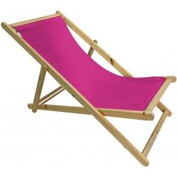 Krzesło leżak składane STRAND Linder Exclusiv MC3451 lila