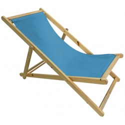 Krzesło leżak składane STRAND Linder Exclusiv MC3451 - aqua