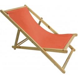 Krzesło leżak składane STRAND Linder Exclusiv MC3451 - orange