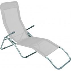 Leżak ogrodwo plażowy SIESTA - aGa MC372171LG Grey