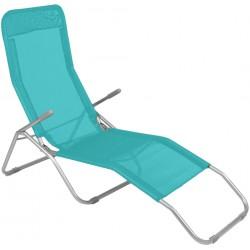 Leżak ogrodwo plażowy SIESTA - aGa MC372171P Petrol