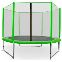 Trampolina ogrodowa aGa SPORT PRO 220cm 7ft 2018 - Light Green
