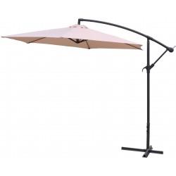 Parasol ogrodowy 300 cm na wysięgniku Linder Exclusive - MC2007 Beige