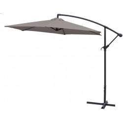 Parasol ogrodowy 300 cm na wysięgniku Linder Exclusive - MC2010 Dark Grey