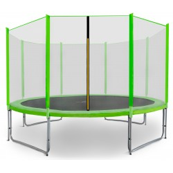 Trampolina ogrodowa aGa SPORT PRO 366 cm (12 ft) 2018 Light Green
