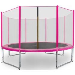 Trampolina ogrodowa aGa SPORT PRO 366 cm (12 ft) 2018 Pink